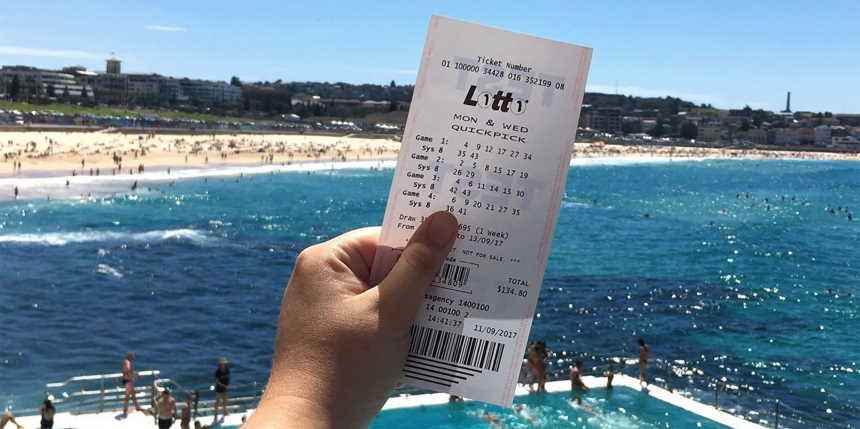 win the lottery in Australia